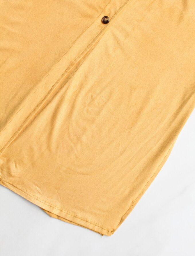 Camisa alongada de suede 6
